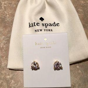 Kate Spade ♠️ Rise & Shine Clear Stud Earrings